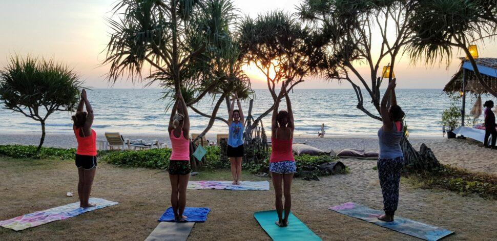 Večerná joga ameditácia